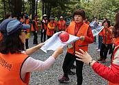 2016년 자원봉사자 단합대회 미션 수행 사진