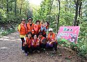 2016년 자원봉사자 단합대회 3조 단체 사진